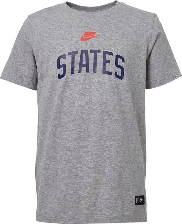 Nike Youth USA Soccer States Gray T-Shirt product image