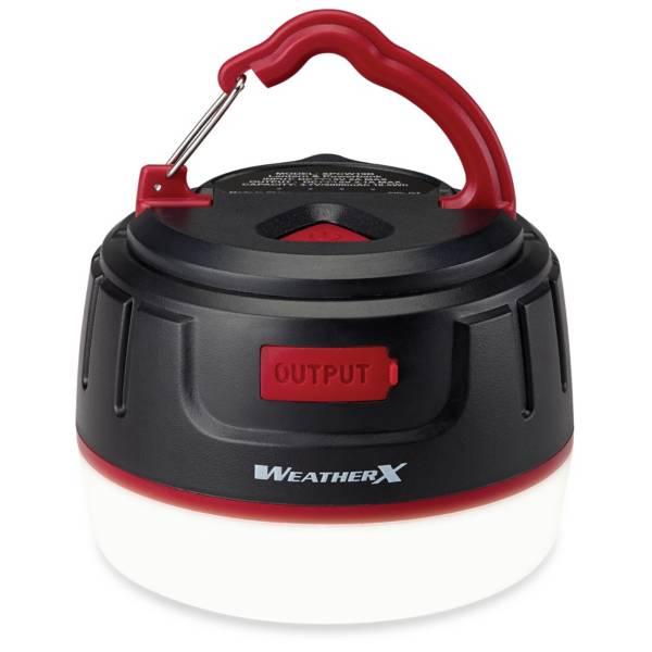 WeatherX Bluetooth Lantern and Powerbank product image