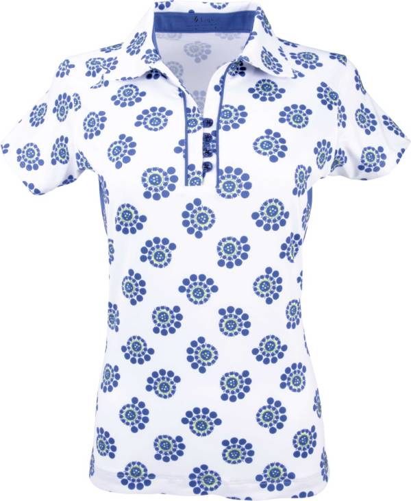 Nancy Lopez Women's Bloom Golf Polo – Extended Sizes product image
