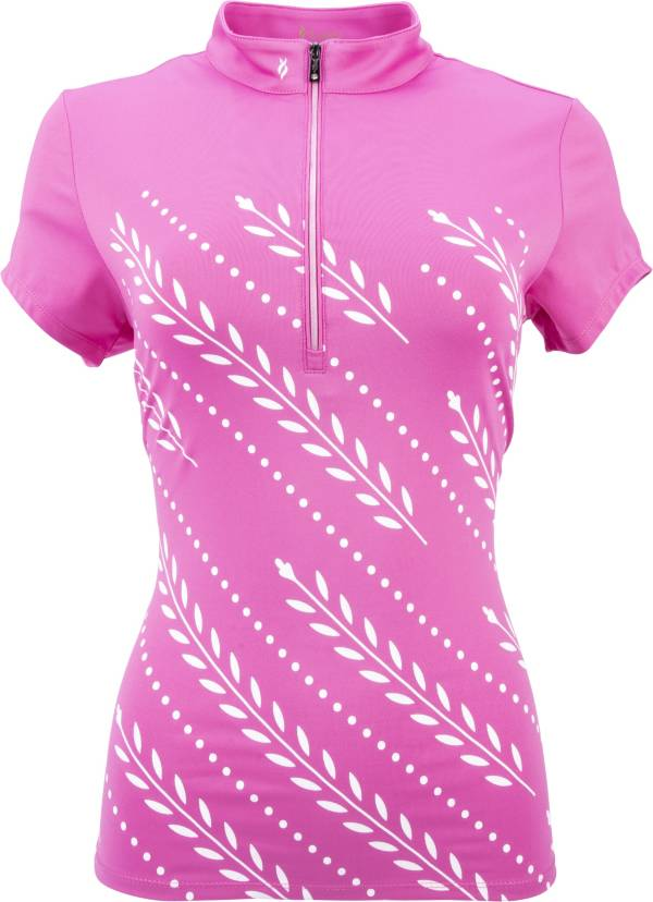 Nancy Lopez Women's Carefree Golf Polo – Extended Sizes product image