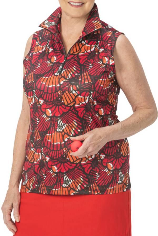 Nancy Lopez Women's Sleeveless Wave Golf Polo product image