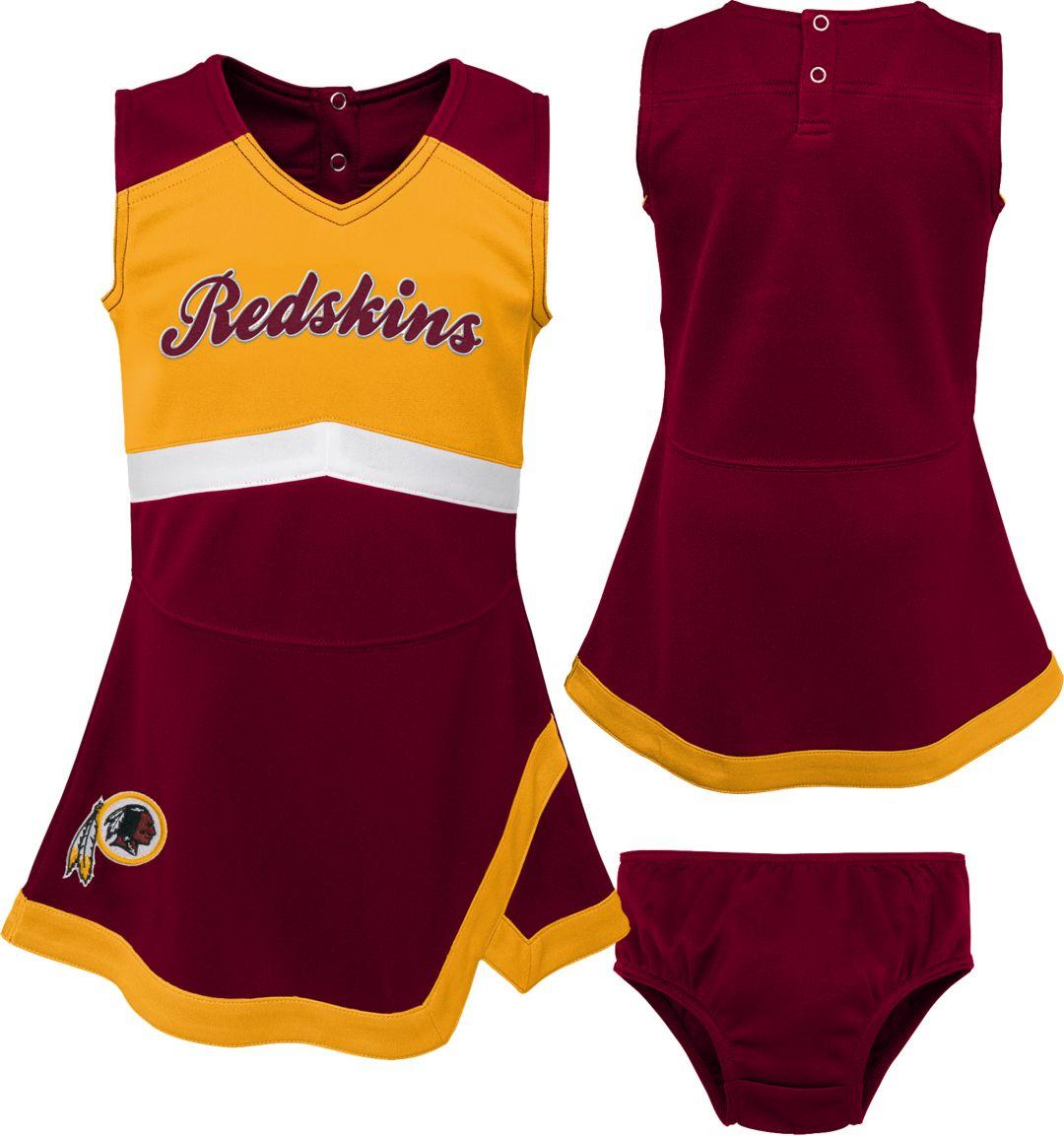 72f87c0a NFL Team Apparel Toddler Washington Redskins Cheer Jumper Dress