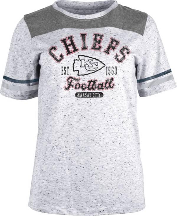 NFL Team Apparel Women's Kansas City Chiefs Peppercorn T-Shirt product image