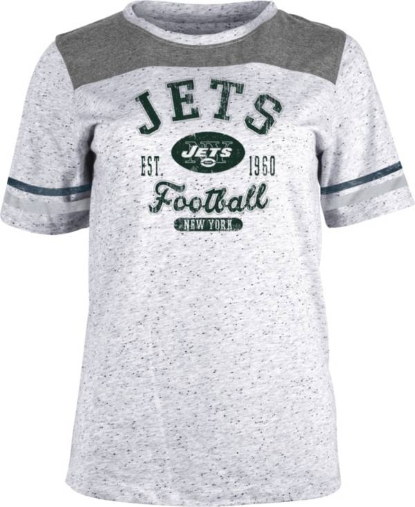 NFL Team Apparel Women's New York Jets Peppercorn T-Shirt product image