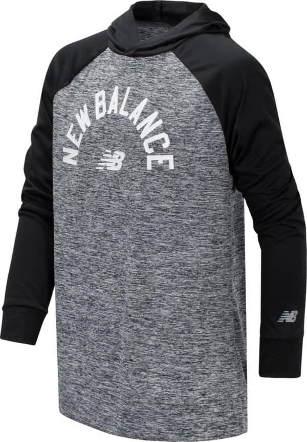 New Balance Boy's Wordmark Lightweight Hoodie product image
