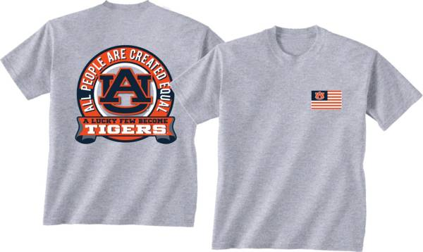 New World Graphics Men's Auburn Tigers Grey Equals T-Shirt product image