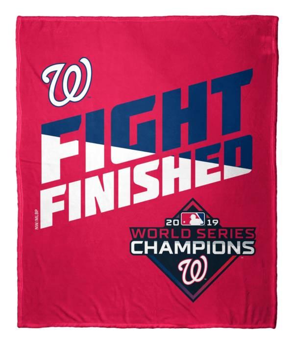 Northwest Washington Nationals 50'' X 60'' Fight Finished Blanket product image