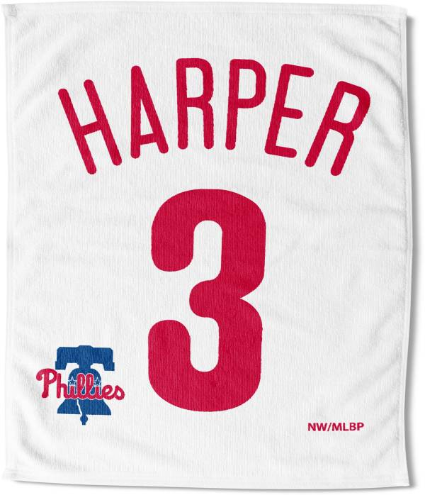 Northwest Philadelphia Phillies Bryce Harper White Rally Towel product image