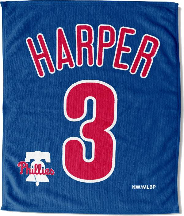 Northwest Philadelphia Phillies Bryce Harper Blue Rally Towel product image