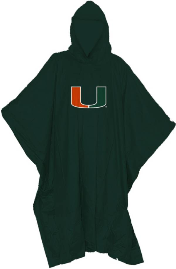 Northwest Miami Hurricanes Poncho product image