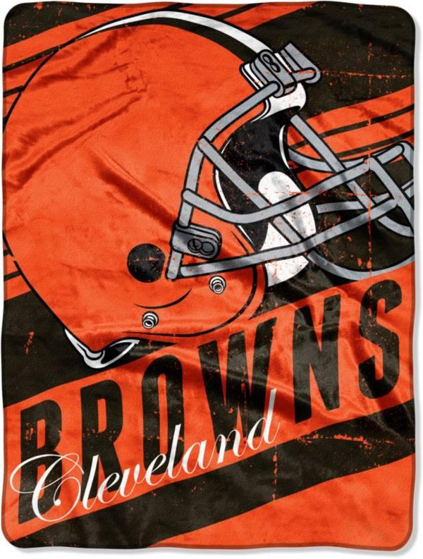 Northwest Cleveland Browns 50'' x 60'' Slant Blanket product image