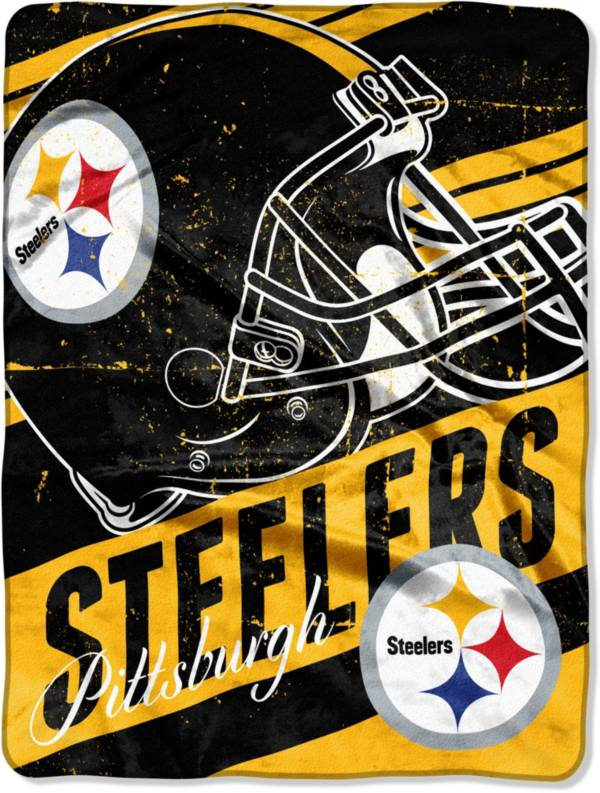 Northwest Pittsburgh Steelers 50 X 60 Slant Blanket Dick S Sporting Goods