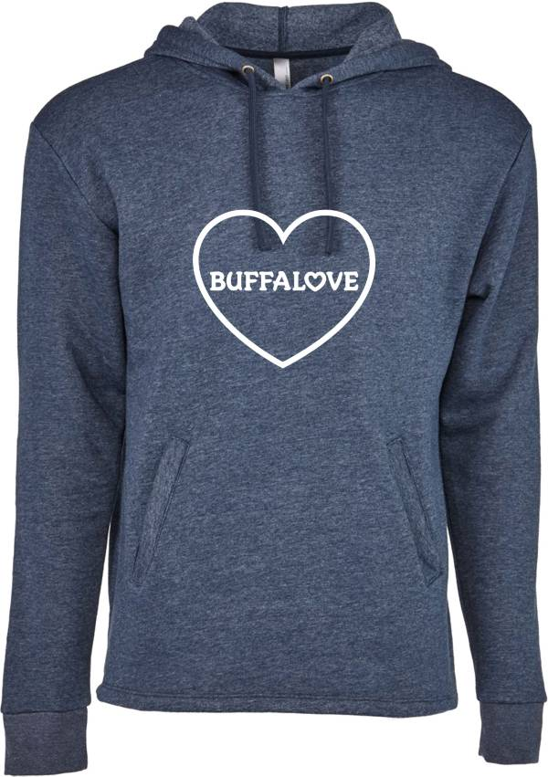 BuffaLove Women's Navy Heart Pullover Hoodie product image