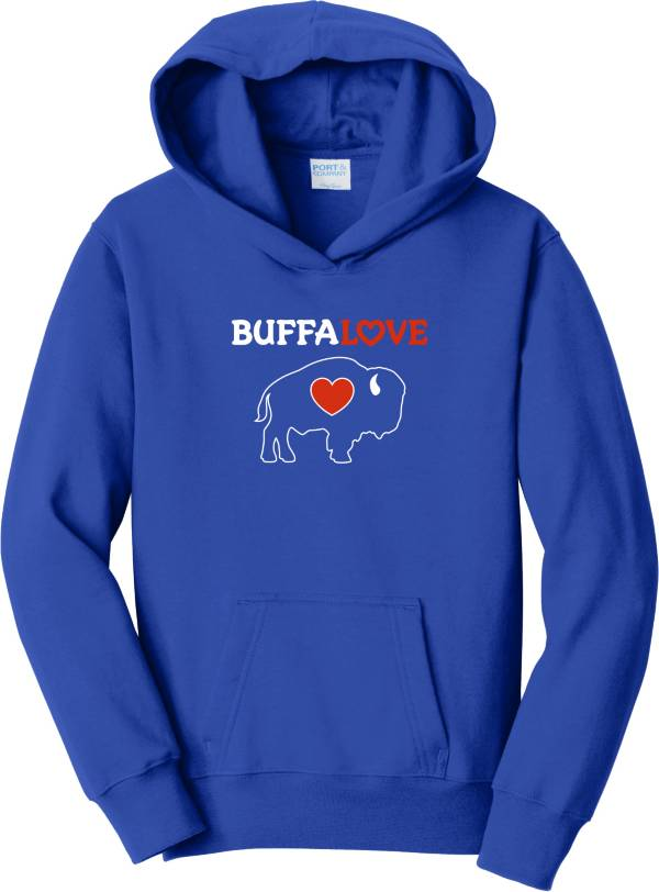 BuffaLove Youth Royal Traditional Pullover Hoodie product image