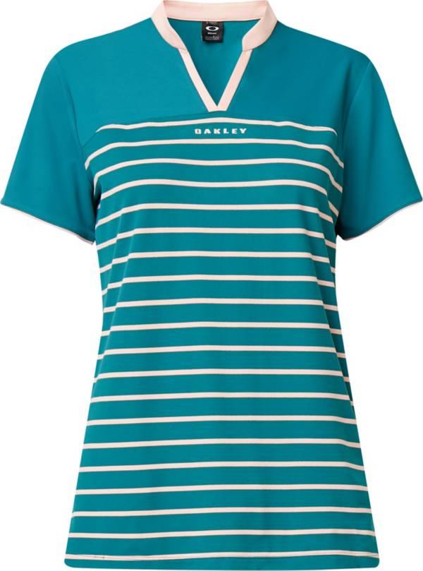 Oakley Women's Bella Striped Short Sleeve Golf Polo product image