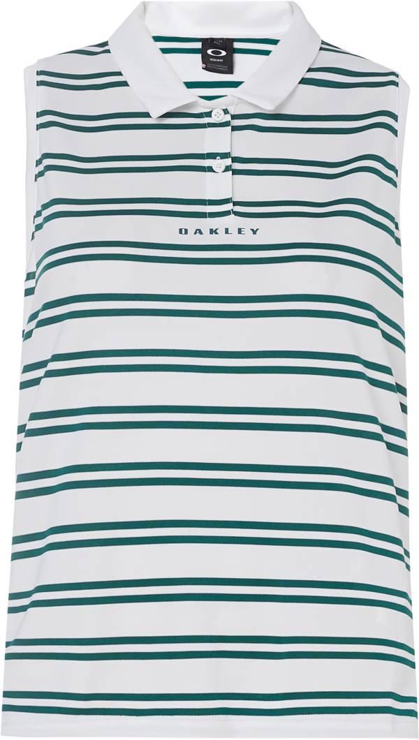 Oakley Women's Enjoy Stripe Sleeveless Golf Polo product image
