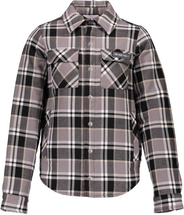 Obermeyer Teen Boys' Avery Flannel Shirt product image