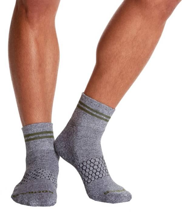 Bombas Adult Stripe Pique Quarter Socks product image