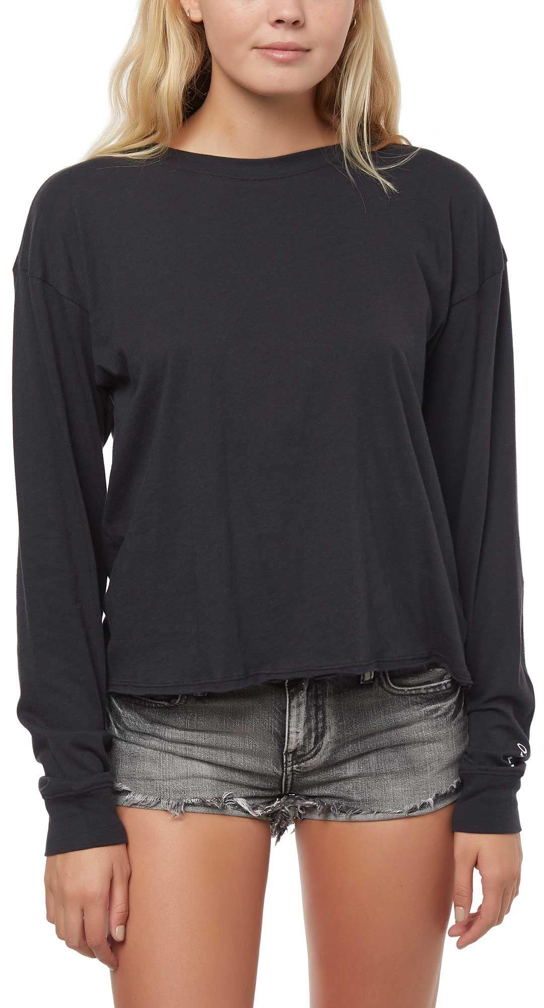 e66d8590 O'Neill Women's Chalk Long Sleeve T-Shirt