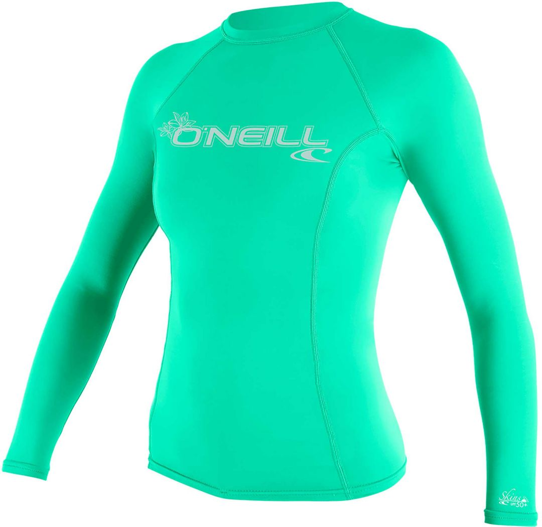 48c36d9008 O'Neill Women's Basic Skins Long Sleeve Rash Guard