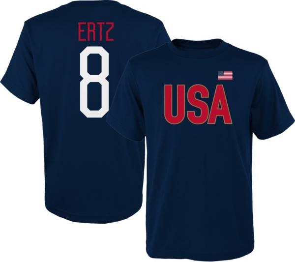Outerstuff Men's USA Soccer Julie Ertz #8 Player Navy T-Shirt product image