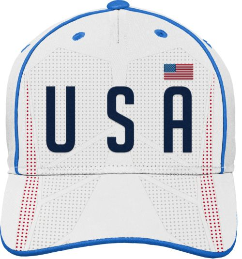 b0bd9c685a4 Outerstuff Youth USA Soccer Printed White Adjustable Hat. noImageFound.  Previous