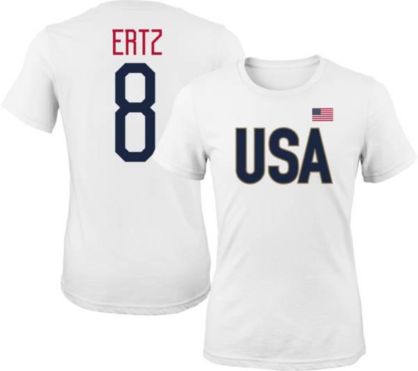 Outerstuff Women's USA Soccer Julie Ertz #8 Player White T-Shirt product image
