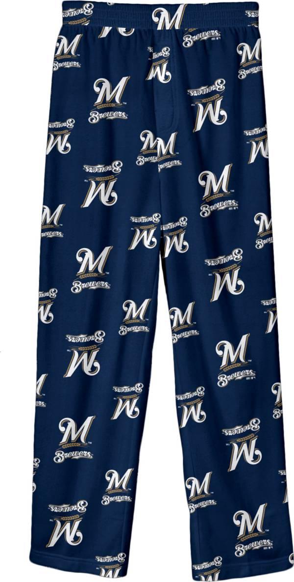 Gen2 Youth Milwaukee Brewers Team Logo Pajama Pants product image
