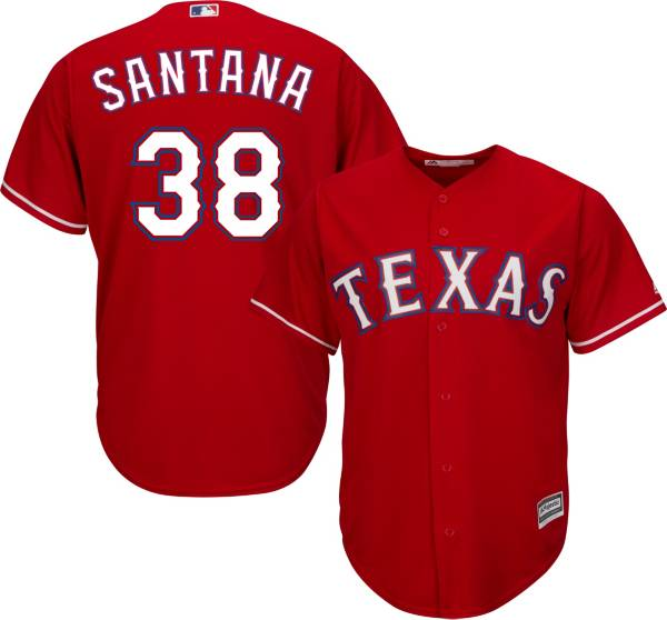 Majestic Youth Replica Texas Rangers Daniel Santana #38 Cool Base Alternate Red Jersey product image