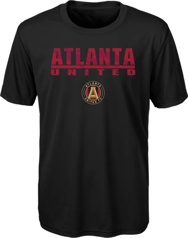 MLS Youth Atlanta United Kick Turf Black T-Shirt product image