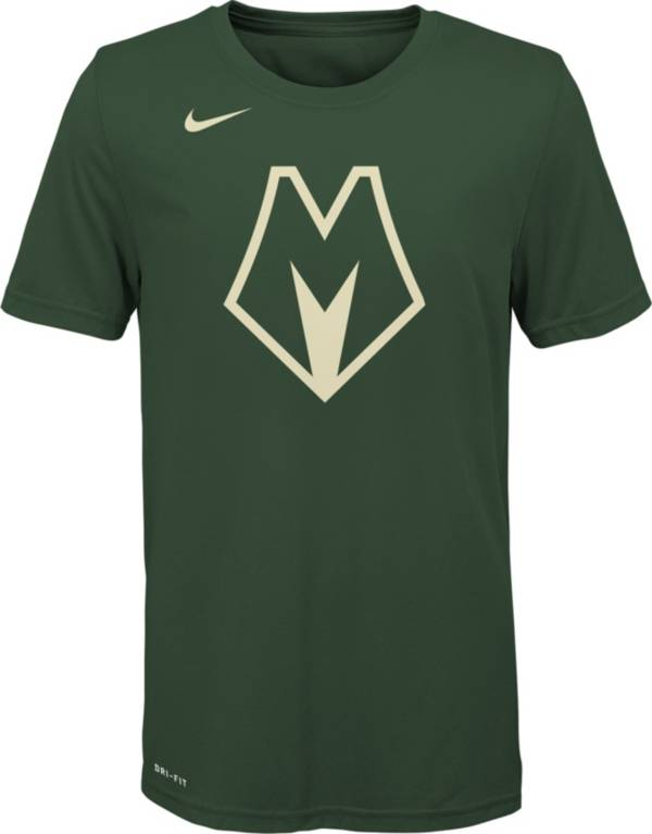 Nike Youth Milwaukee Bucks Dri-FIT Green City Edition T-Shirt product image