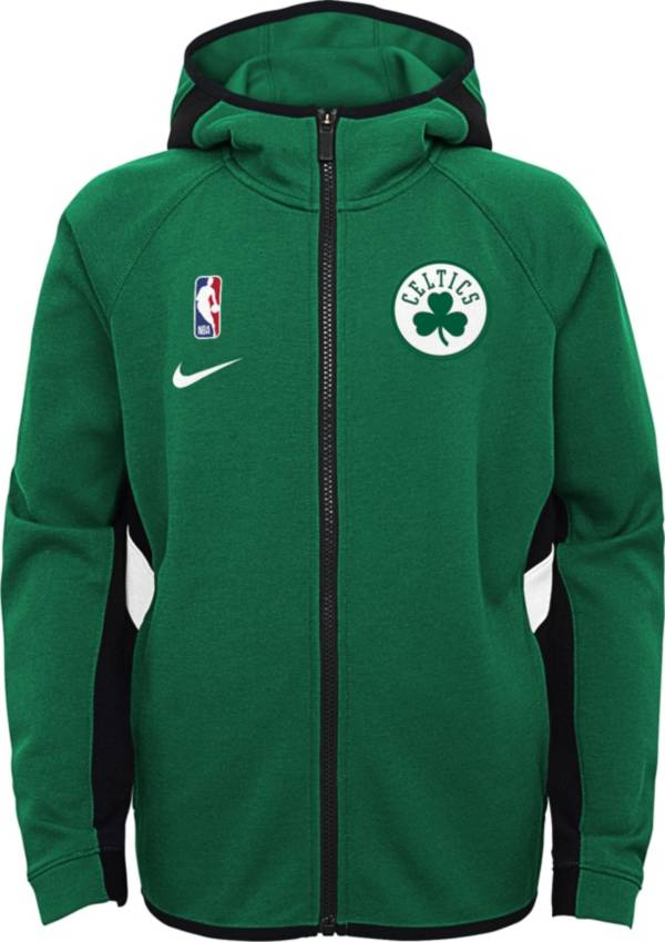 Nike Youth Boston Celtics On-Court Therma Flex Showtime Full-Zip Hoodie product image
