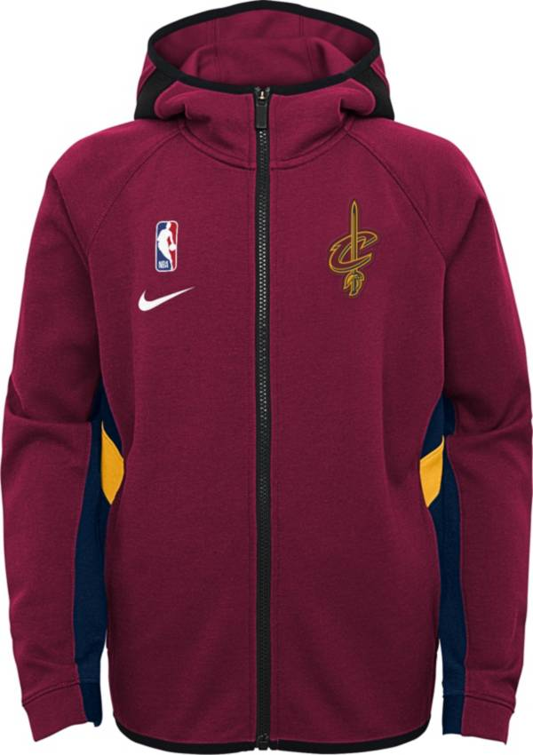 Nike Youth Cleveland Cavaliers On-Court Therma Flex Showtime Full-Zip Hoodie product image