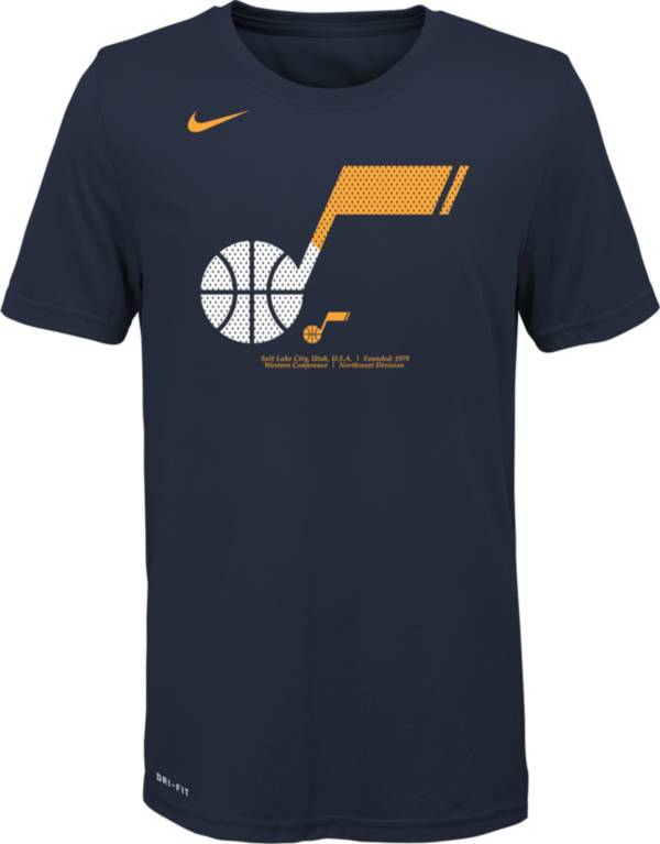 Nike Youth Utah Jazz Dri-FIT Split Logo T-Shirt product image