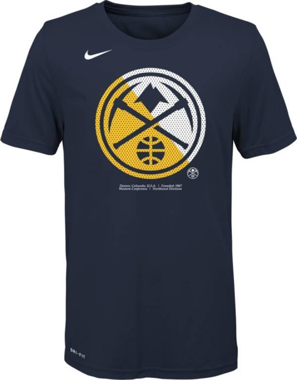 Nike Youth Denver Nuggets Dri-FIT Split Logo T-Shirt product image
