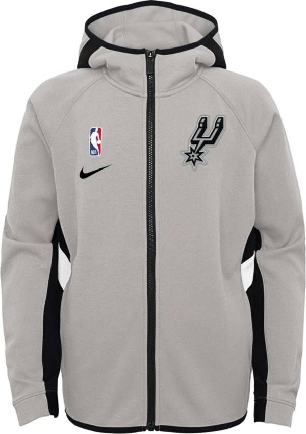 Nike Youth San Antonio Spurs On-Court Therma Flex Showtime Full-Zip Hoodie product image