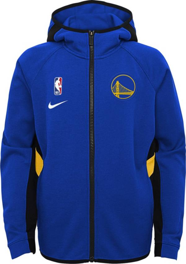 Nike Youth Golden State Warriors On-Court Therma Flex Showtime Full-Zip Hoodie product image