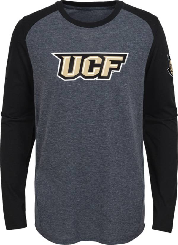 Gen2 Youth UCF Knights Grey First String Long Sleeve T-Shirt product image
