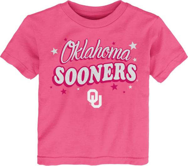 Gen2 Toddler Girls' Oklahoma Sooners Pink My Team T-Shirt product image
