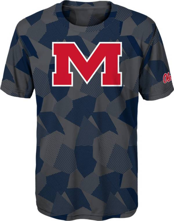 Gen2 Boys' Ole Miss Rebels Grey Sublimated Print Stadium T-Shirt product image
