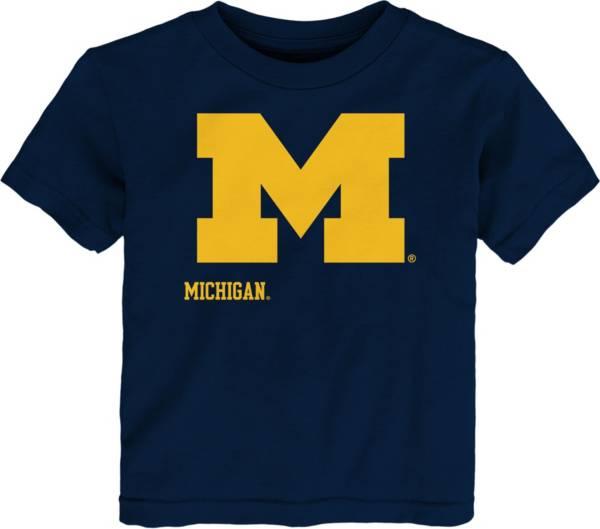 Gen2 Toddler Michigan Wolverines Blue Headshot T-Shirt product image
