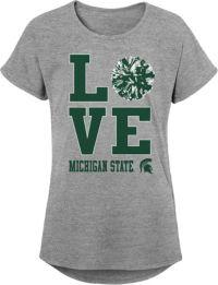 Michigan State Spartans NCAA Skipper Mens Performance Polo Shirt