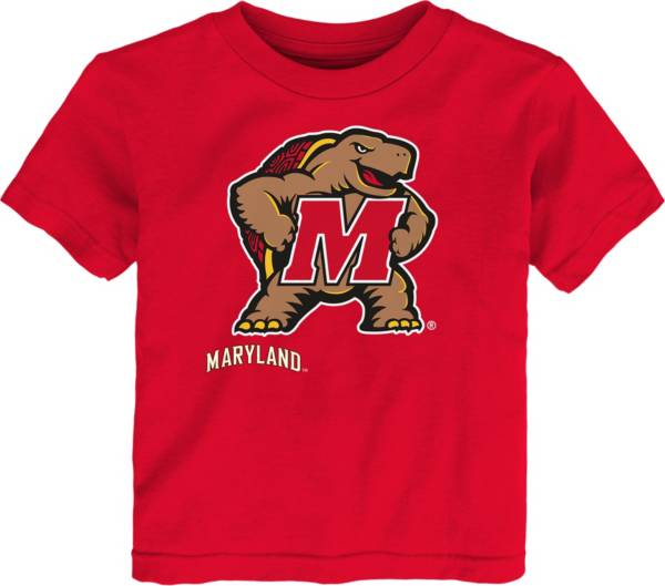 Gen2 Toddler Maryland Terrapins Red Headshot T-Shirt product image