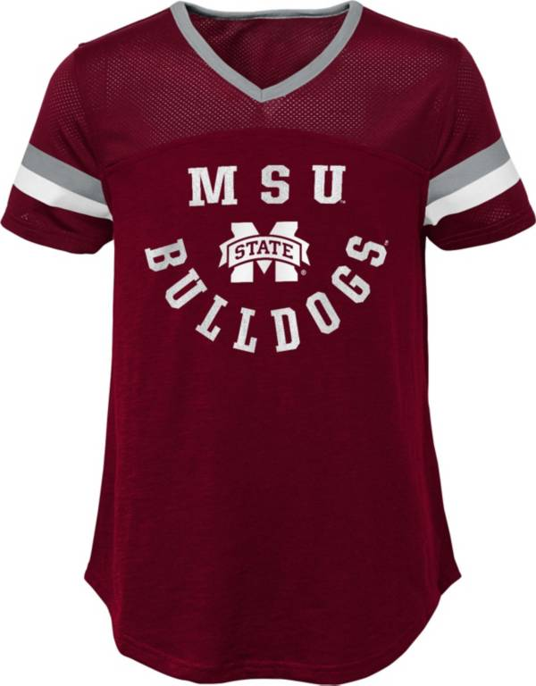 Gen2 Girls' Mississippi State Bulldogs Maroon Game Plan T-Shirt product image