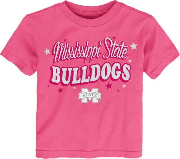 Gen2 Toddler Girls' Mississippi State Bulldogs Pink My Team T-Shirt product image