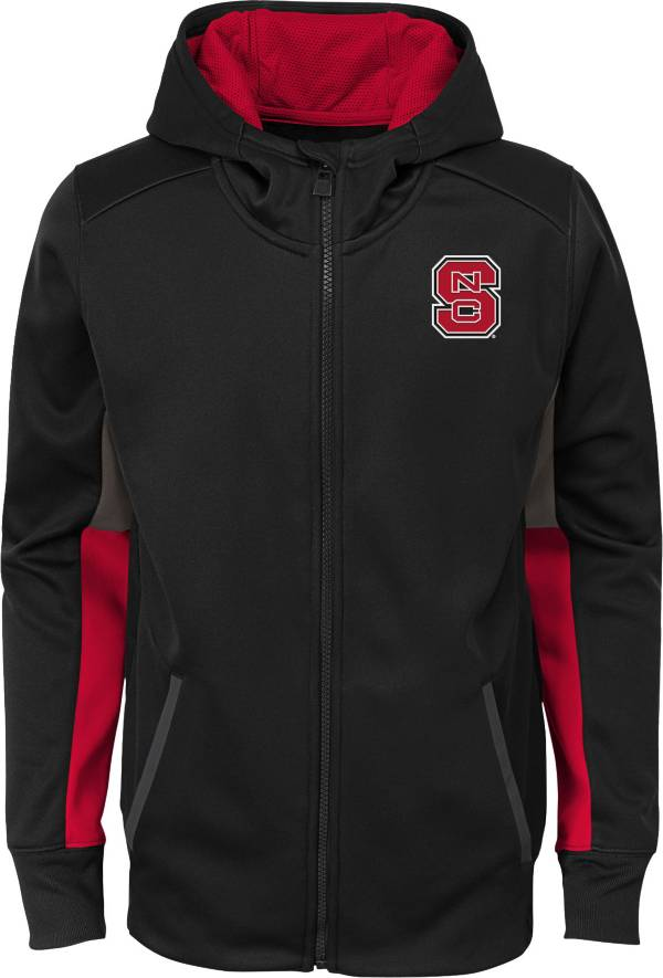 Gen2 Youth NC State Wolfpack Full-Zip Performance Black Hoodie product image