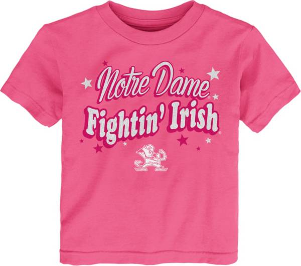 Gen2 Toddler Girls' Notre Dame Fighting Irish Pink My Team T-Shirt product image