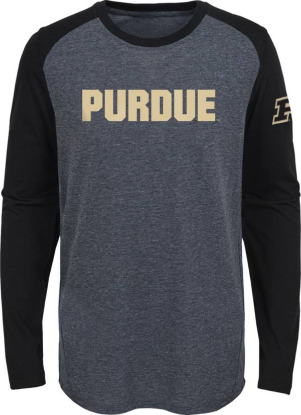 Gen2 Youth Purdue Boilermakers Grey First String Long Sleeve T-Shirt product image