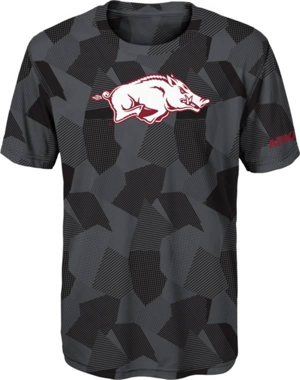 Gen2 Boys' Arkansas Razorbacks Grey Sublimated Print Stadium T-Shirt product image