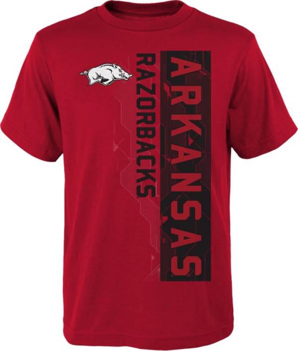 Gen2 Boys' Arkansas Razorbacks Cardinal Challenger T-Shirt product image